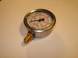 Pressure gauge 0-250 bar