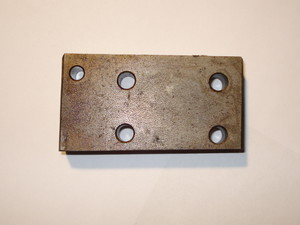 Standard Carrier Chain fastener rear