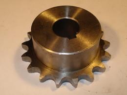 """Motor chain wheel 1/2"""" z17 ø20"""