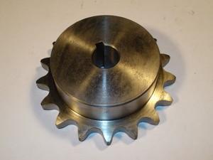 """Motor chain wheel 3/4"""" z17 ø20"""