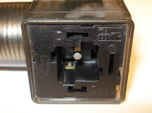 Cable socket 230V AC/DC square