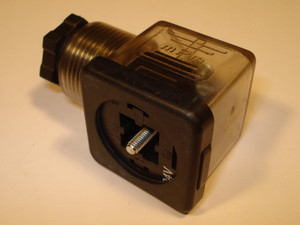 Cable socket 24V AC/DC square