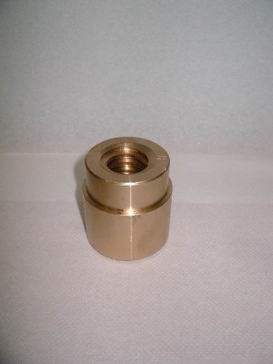 Trapezium nut ø55.5 left Tin bronze