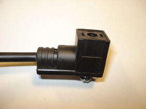 125-571-3 Valve socket with cable L=3m 24V