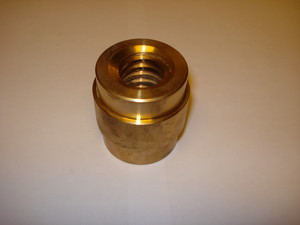 Block-deck robot Grabber Trapezium nut left