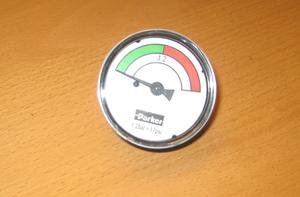 Return filter Indicator visual 1.2bar Parker