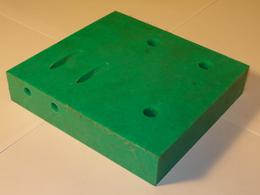 Block cutter Saw house Chip breaker left