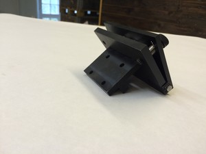 Deck board carrier Head holder foldable left