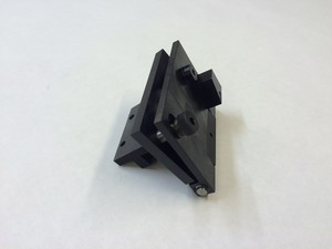 Deck board carrier Head holder foldable left